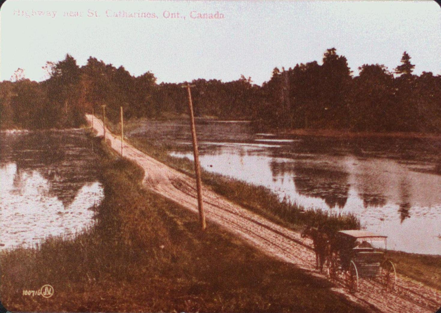 A Highway over Martindale Pond