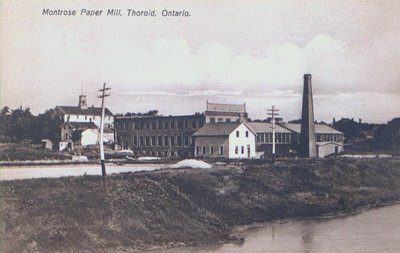 Montrose Paper Mill, Thorold