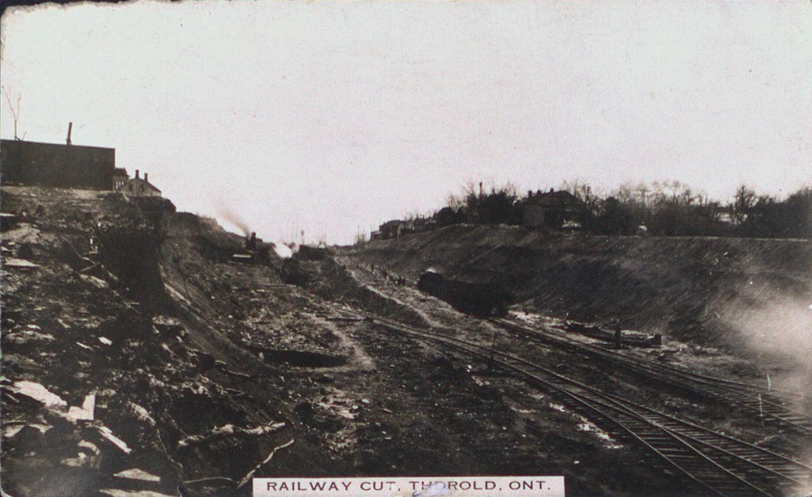 Railway Cut, Thorold