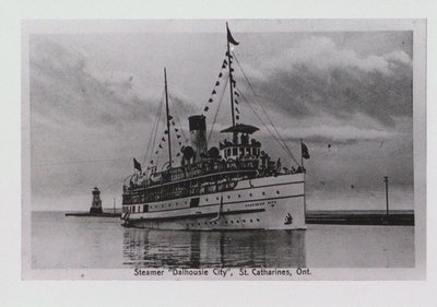"The Steamer ""Dalhousie City"""