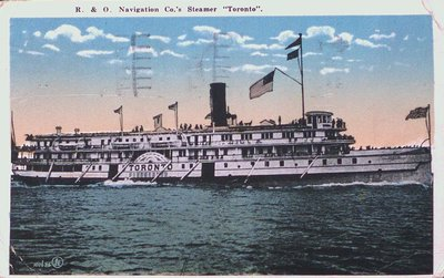 "The Steamer ""Toronto"""