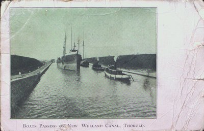 Ships on the Welland Canal, Thorold