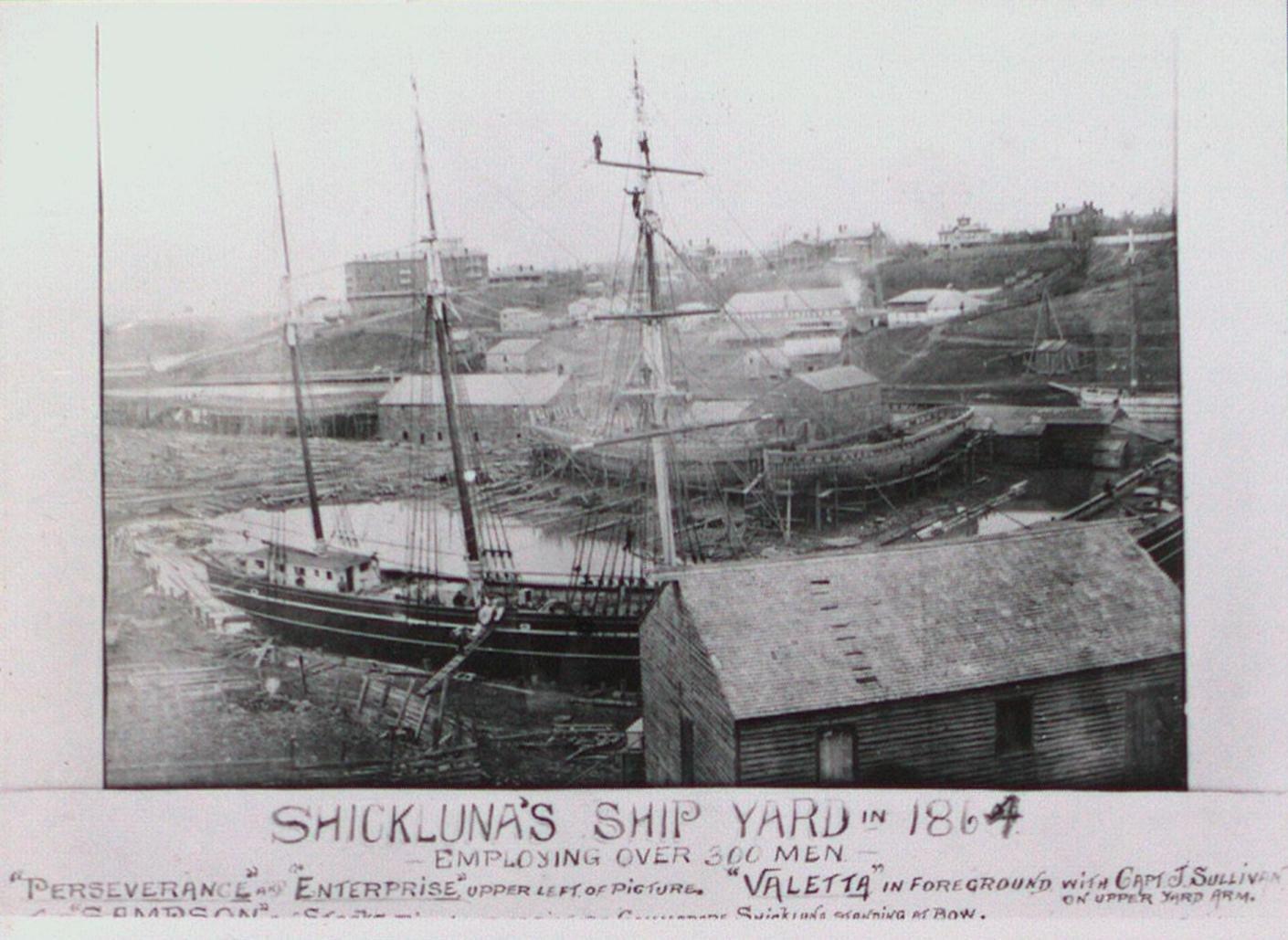 The Shickluna Dry Docks and Shipyards