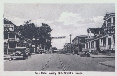 Main Street Grimsby Looking East