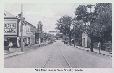 Main Street Grimsby Looking West