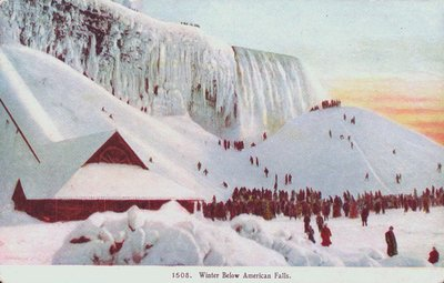 Niagara Falls-The American Falls in Winter