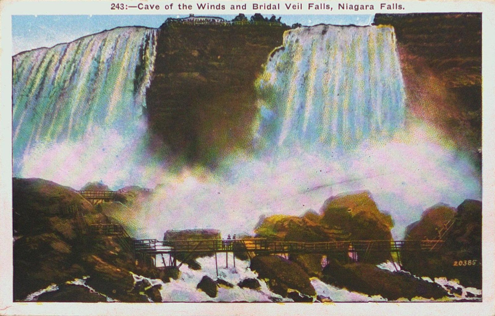 Niagara Falls-The Bridal Veil Falls & The Cave of the Winds