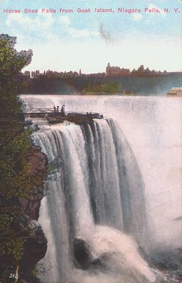 Niagara Falls-The Horseshoe Falls