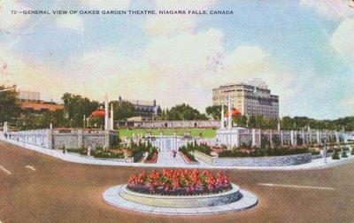 Oakes Garden Theatre, Niagara Falls