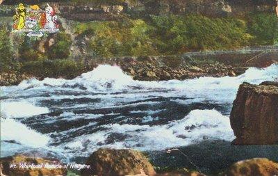 The Whirlpool Rapids in the Niagara River
