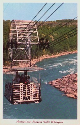 The Aerocar over the Whirlpool Rapids
