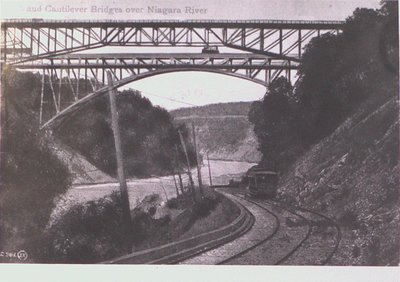 The Arch and Cantilever Bridges over the Niagara River
