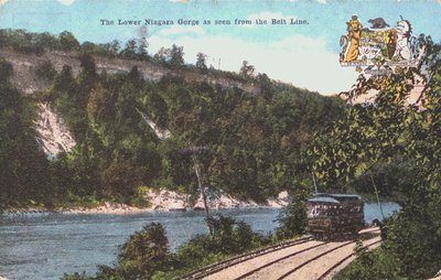 The Lower Niagara Gorge, Niagara Falls