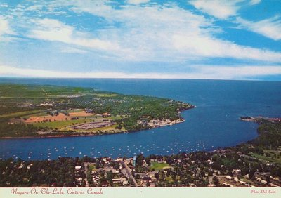 An Aerial View of Niagara-on-the-Lake