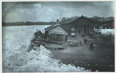 An Ice Jam at the Mouth of the Niagara River, Niagara-on-the-Lake