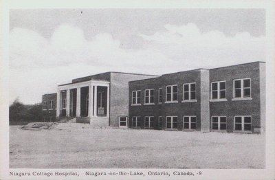 Niagara Cottage Hospital, Niagara-on-the-Lake