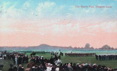 The March Past, Camp Niagara, Niagara-on-the-Lake