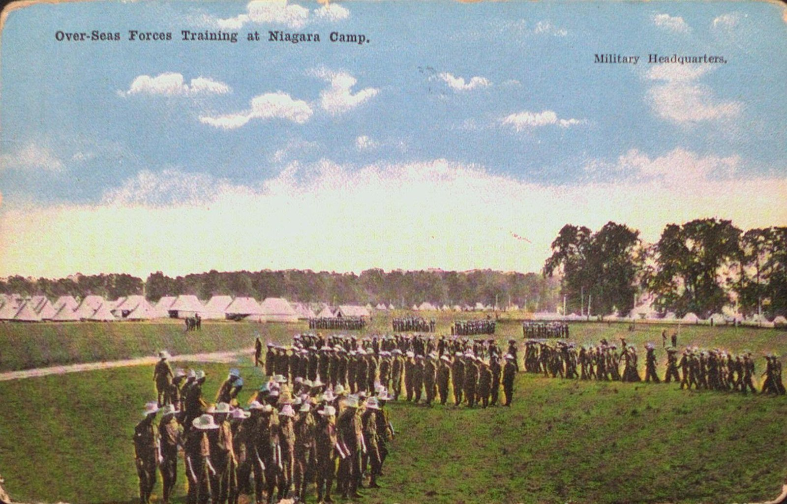 Over-Seas Forces Training at Camp Niagara