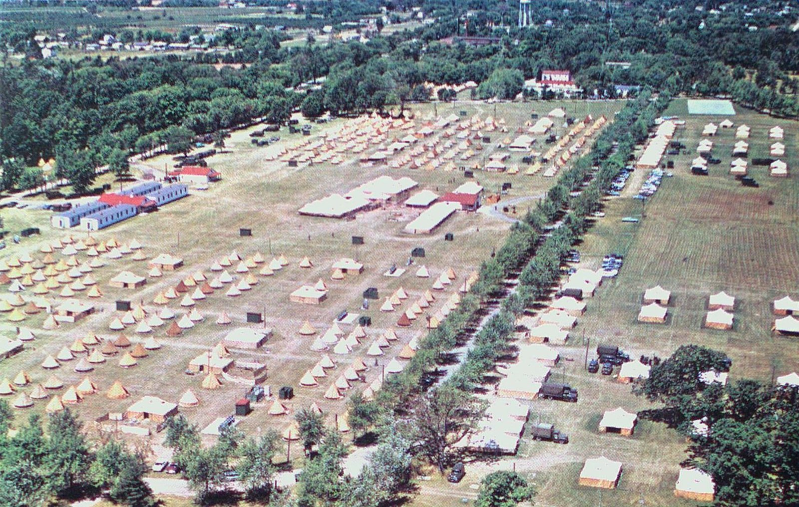 The Canadian Army Training Camp, Niagara-on-the-Lake