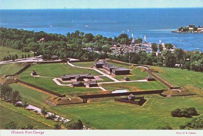 An Aerial View of Fort George, Niagara-on-the-Lake