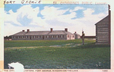 The Officer's Quarters at Fort George, Niagara-on-the-Lake