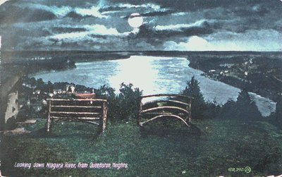 A View of the Niagara River from Queenston Heights