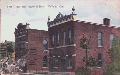 Post Office and Imperial Bank, Welland