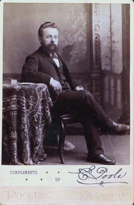 A Portrait of Edwin Poole