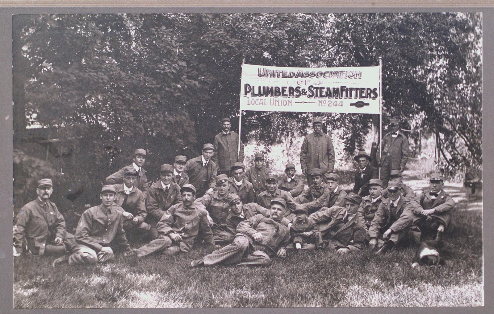 United Association of Plumbers & Steamfitters, Local Union #244