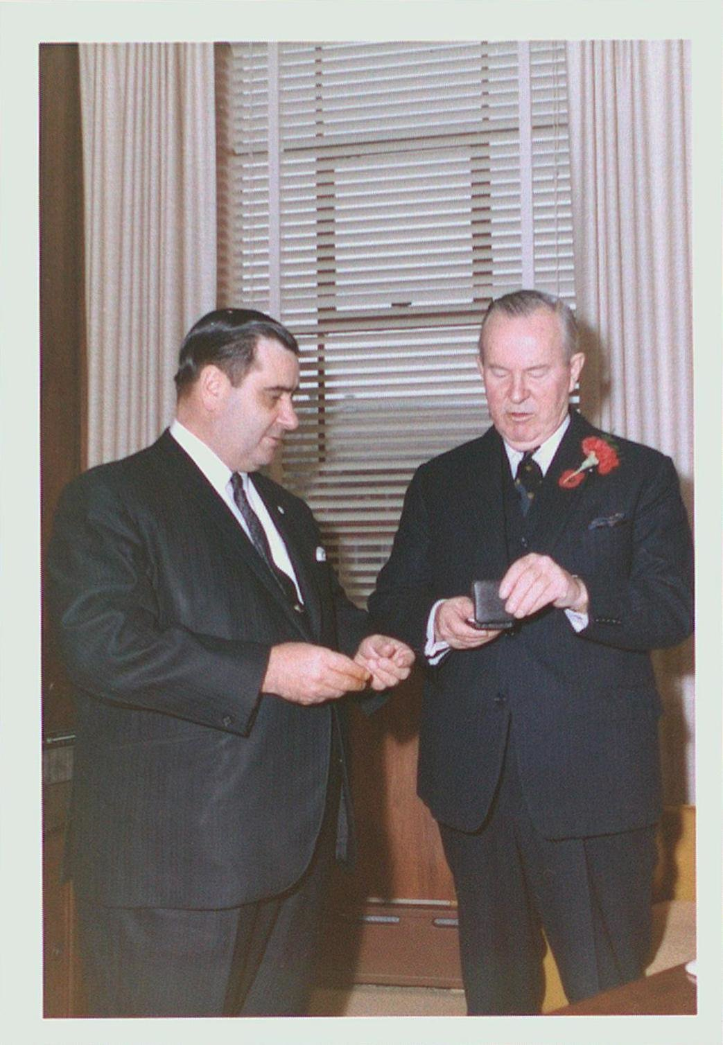 Prime Minister Lester Pearson & St. Catharines Mayor Robert Johnston