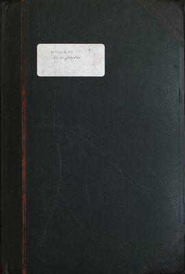 Teresa Vanderburgh's Musical Scrapbook #1 - Cover