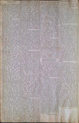 Teresa Vanderburgh's Musical Scrapbook #1 - Newspaper Clippings: Mors et Vita