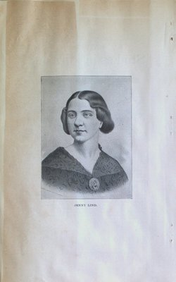 Teresa Vanderburgh's Musical Scrapbook #1 - Portrait of Jenny Lind