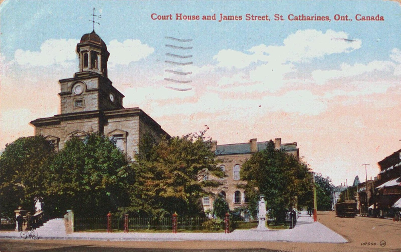 The Court House and James Street