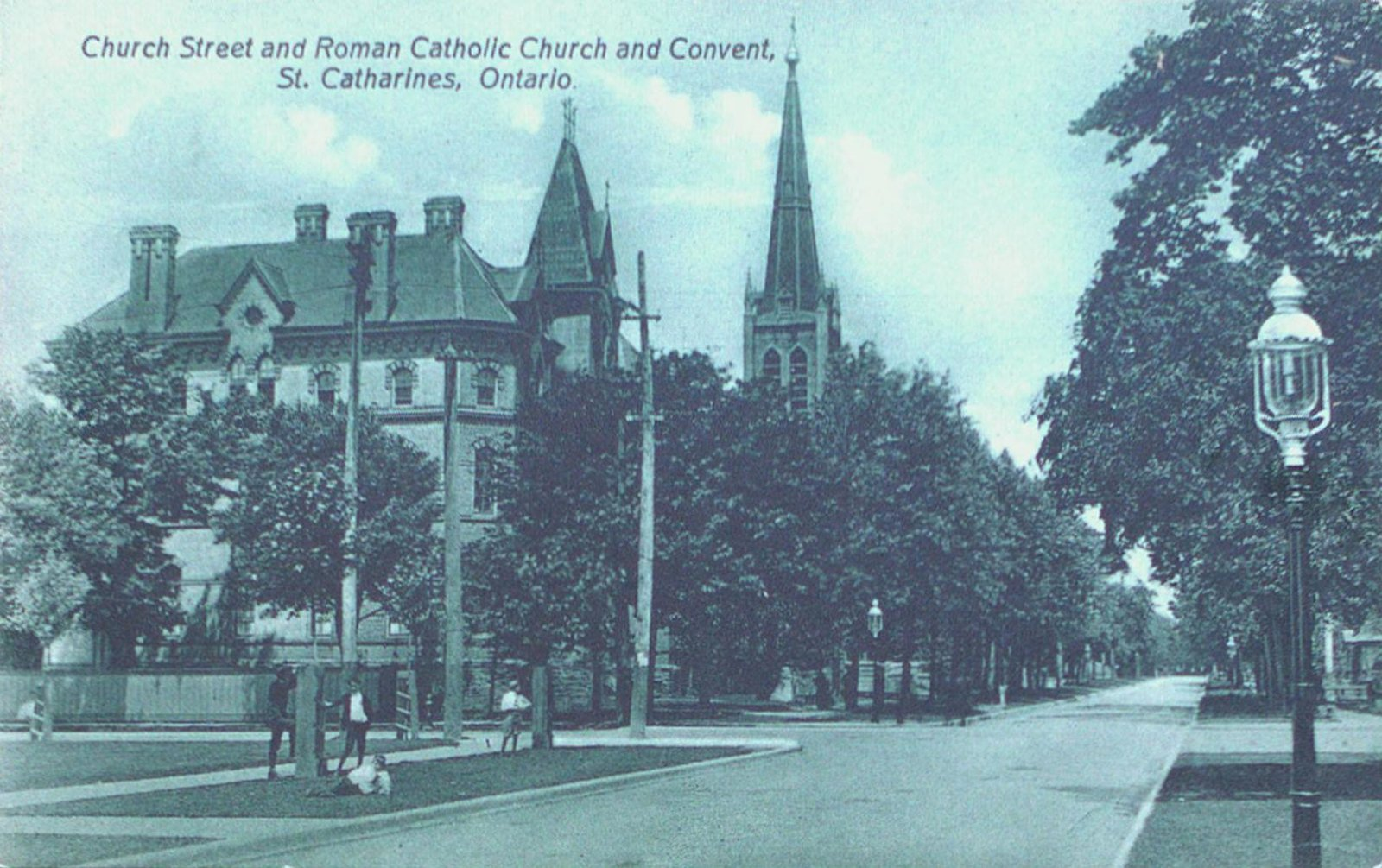 Church Street and Roman Catholic Church and Convent