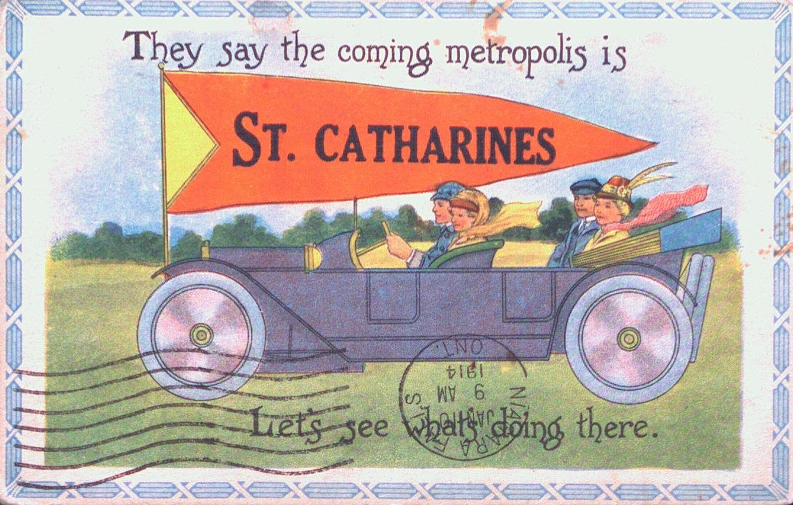 Advertisement for St. Catharines