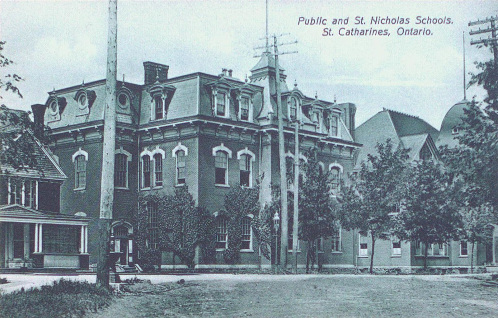 A Public (Central) School & St. Nicholas School