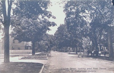 Church Street Looking West From James