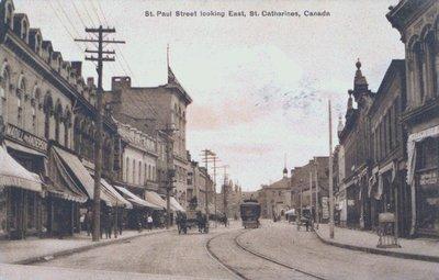 St. Paul Street Looking East