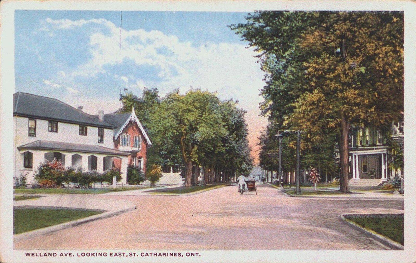 Welland Avenue Looking East