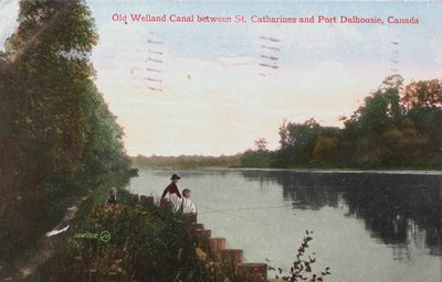 The Old Welland Canal between St. Catharines & Port Dalhousie