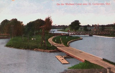 The Old Welland Canal Near St. Catharines