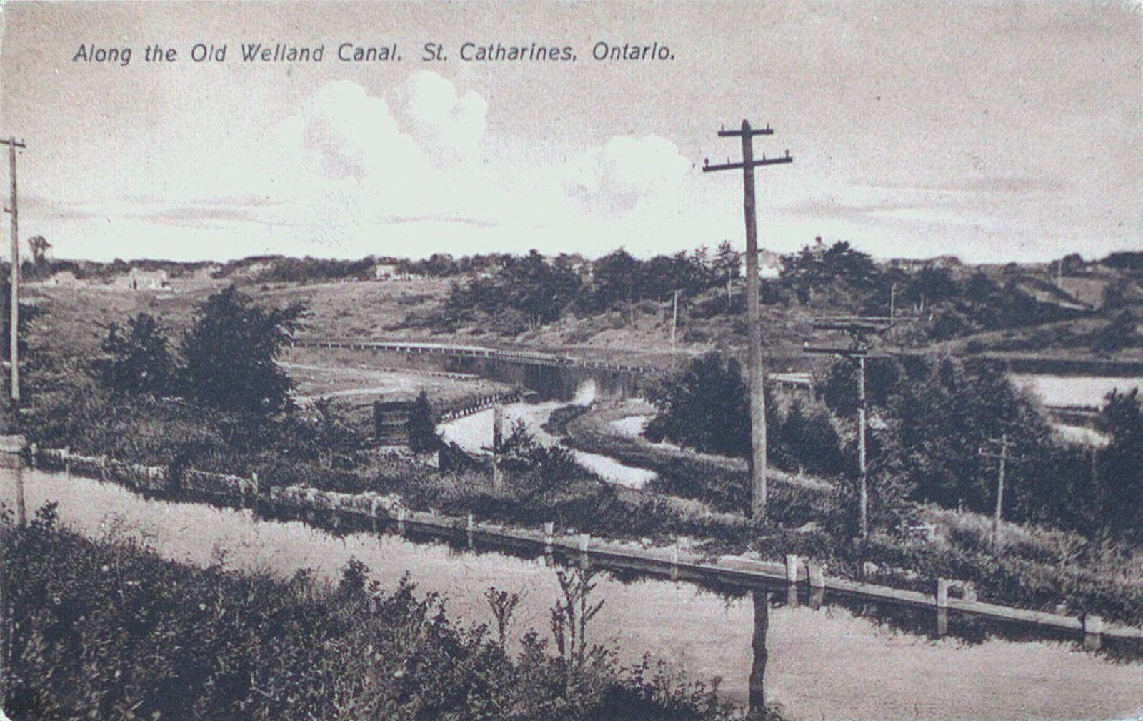 Along the Old Welland Canal