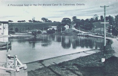 A Picturesque Spot on the Old Welland Canal