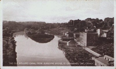 The Old Welland Canal from the Burgoyne Bridge