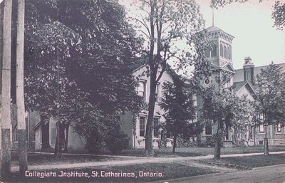 Collegiate Institute, St. Catharines, Ontario.