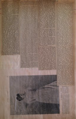 Teresa Vanderburgh's Musical Scrapbook #1 - Newspaper Clippings