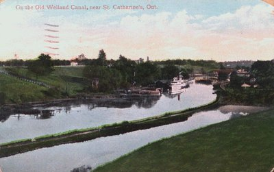 On the Old Welland Canal