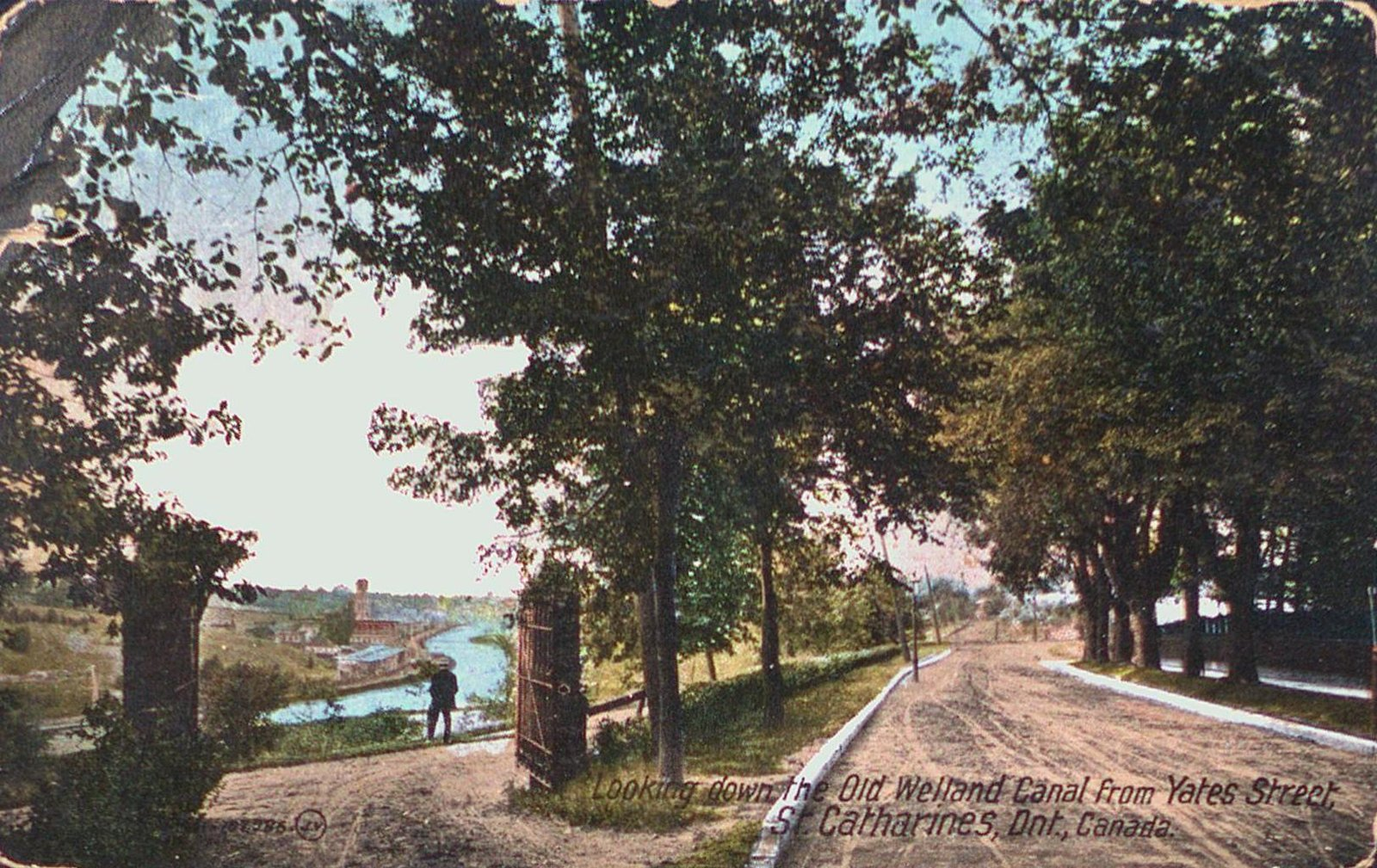 The Old Welland Canal from Yates Street