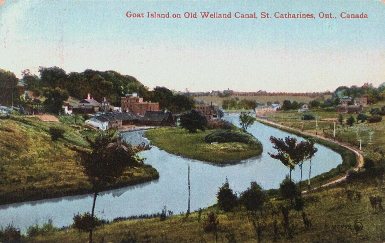 Goat Island on the Old Welland Canal